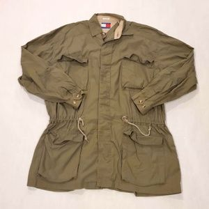 Vintage 90s Tommy Hilfiger Outdoors Field Jacket